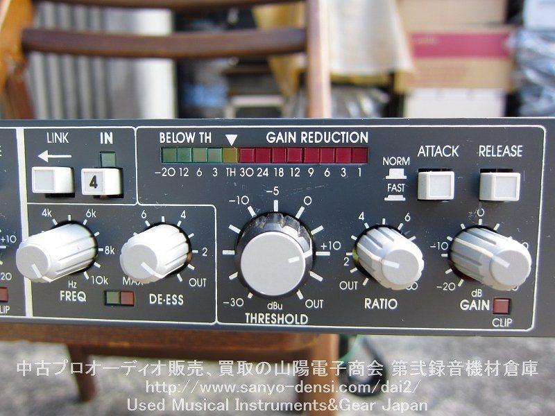 中古音響機器 BSS DPR404 4ch コンプレッサー ディエッサー 全国通信販売