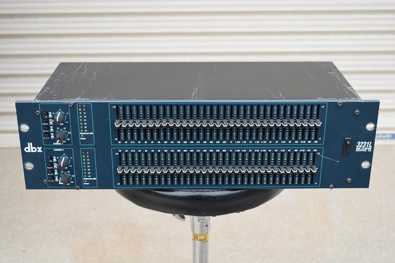 中古 PA機材 DBX 3231L 31バンドグラフィックイコライザー 全国通信販売 山陽電子商会 第弐録音機材倉庫
