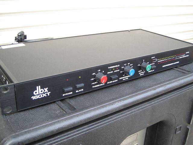 中古音響機材 dbx 160XT  モノラル コンプレッサー