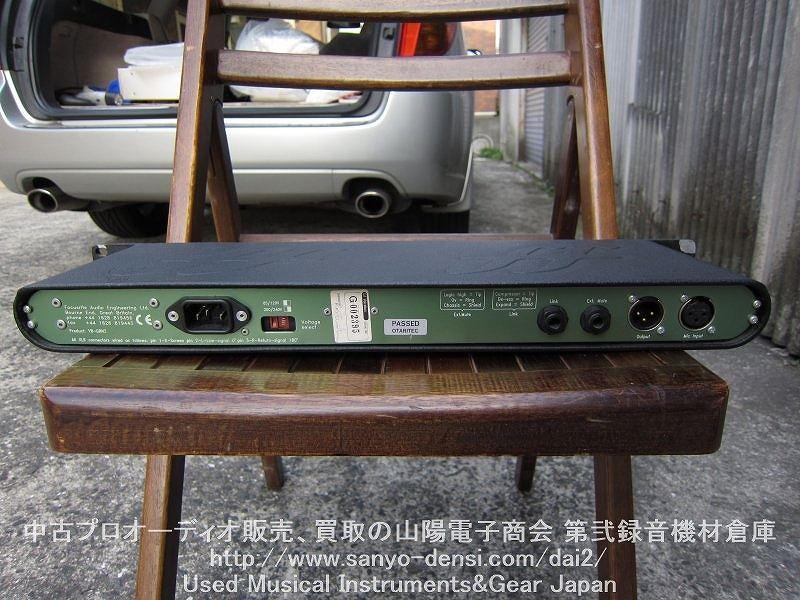 中古機材 focusrite green3 マイクプリ  コンプ