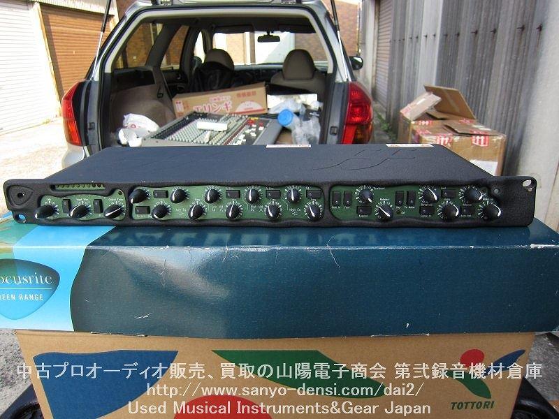 中古音響機材 focusrite green5 マイクプリ コンプ