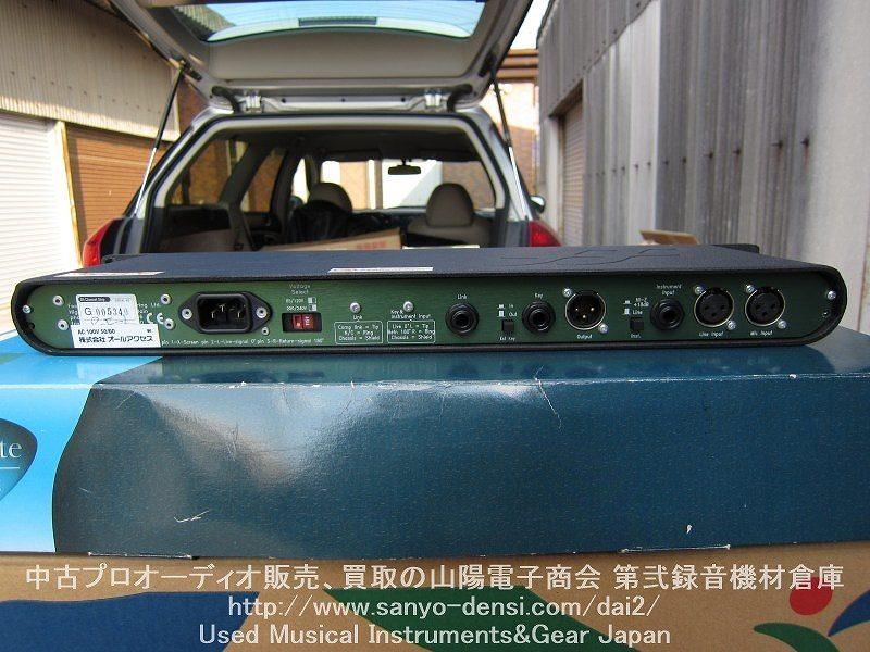 中古機材 focusrite green5 マイクプリ  コンプ