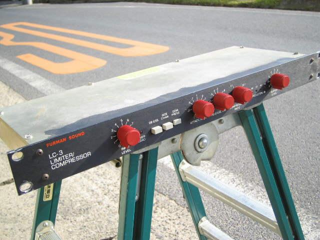 中古エフェクター FURMAN LC-3 compressor/limiter