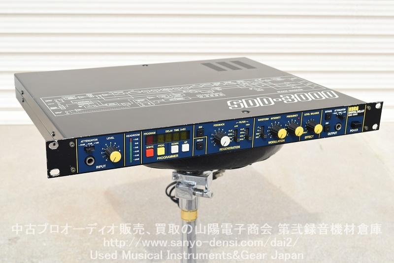 中古音響機材 BOOWY KORG SDD-3000 ディレイ 布袋 布袋寅泰 全国通信販売