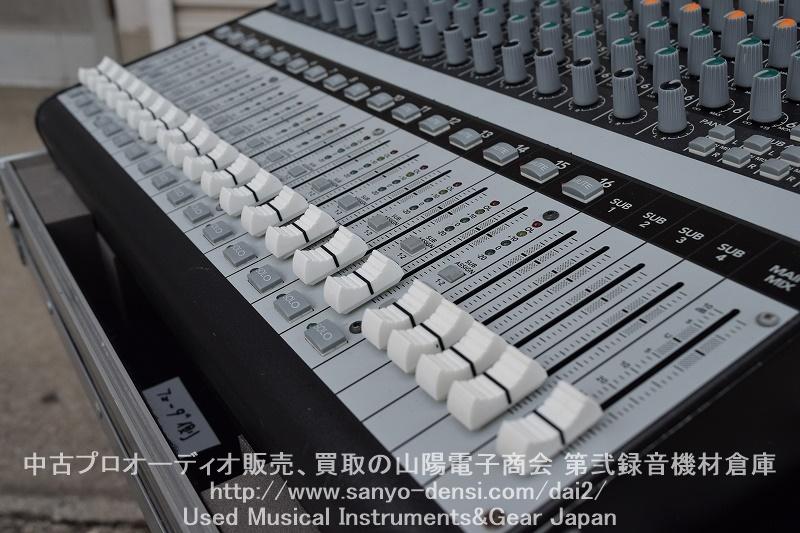 中古ミキサー MACKIE ONYX1640 firewire