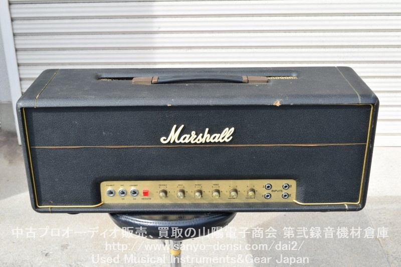 中古ベースアンプ 1974年 MARSHALL マーシャル SuperBass100 100W全国通信販売