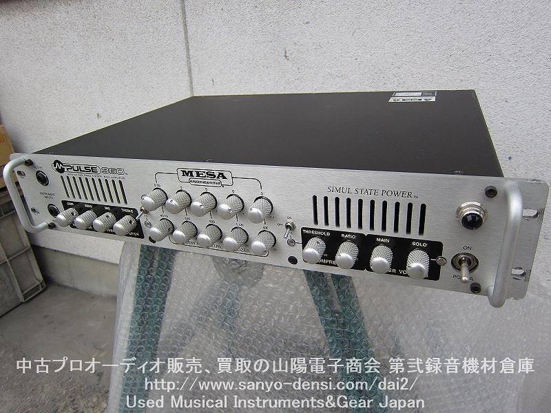 中古ベースアンプ MESA/BOOGIE メサブギー M-Pulse 360 全国通信販売