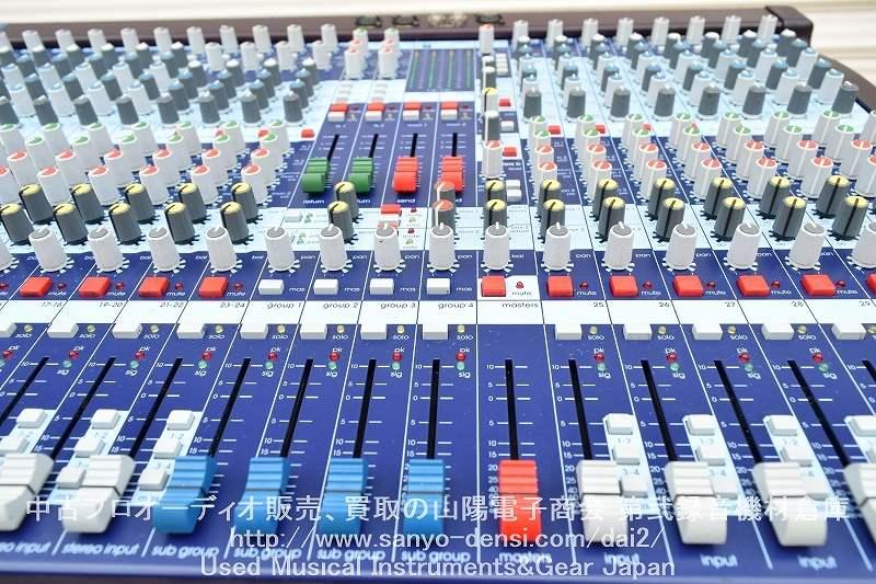 中古音響機器 MIDAS VENICE 320 アナログミキサー 全国通信販売