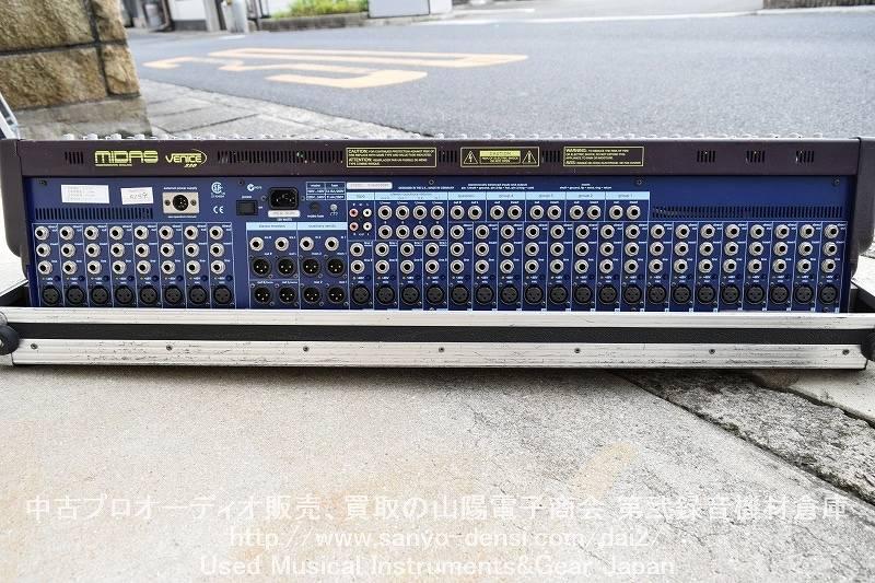 中古音響機材 PA/SR MIDAS VENICE 320 アナログミキサー 全国通信販売