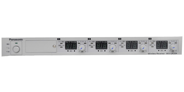 panasonic wx-ur504 ワイヤレスレシーバー 新品特価
