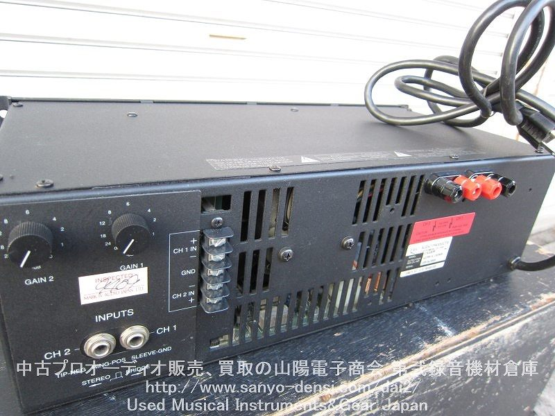 425W QSC AUDIO USA850 PAパワーアンプ 全国通信販売