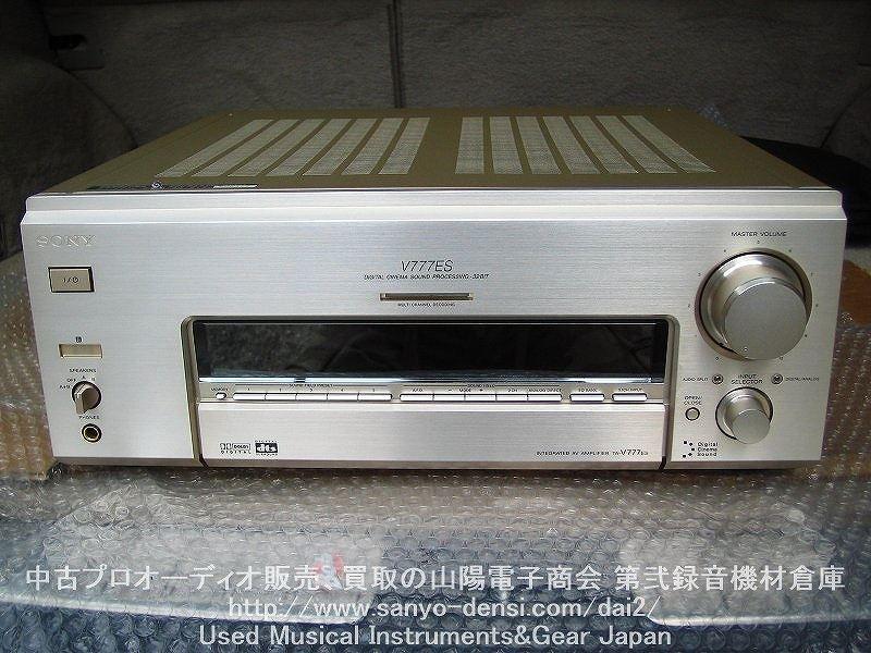中古AVアンプ SONY TA-V777ES 通信販売