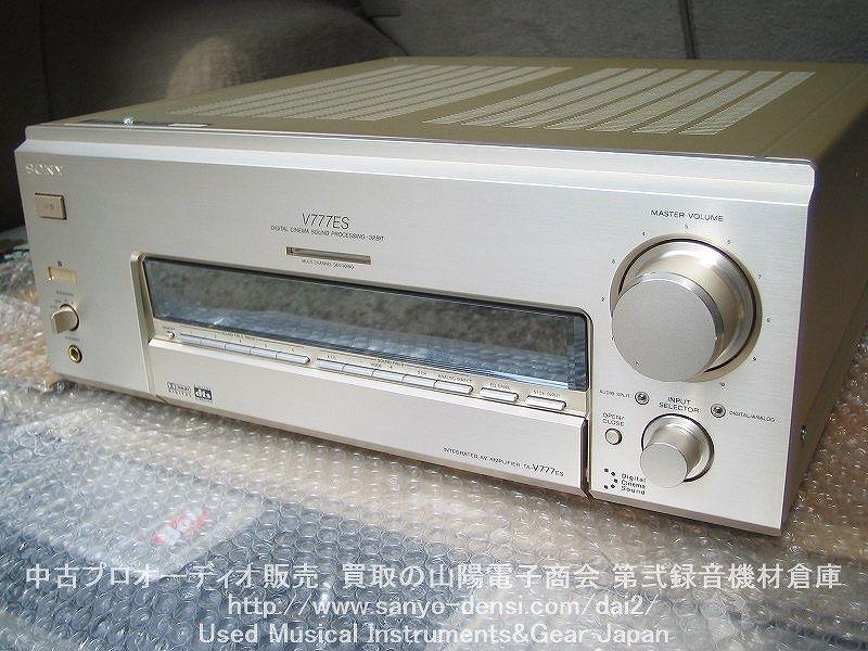 【中古AVアンプ】 SONY TA-V777ES 通信販売