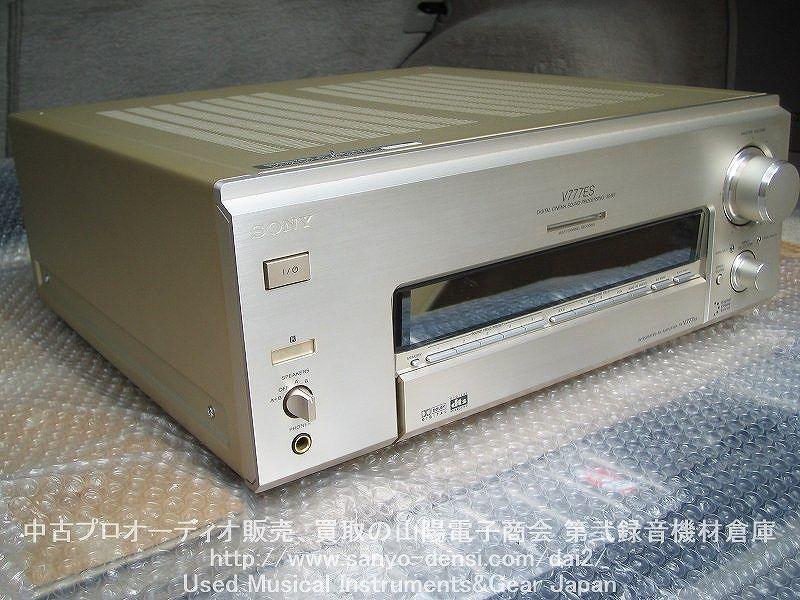 中古AVアンプ SONY TA-V777ES 全国通信販売