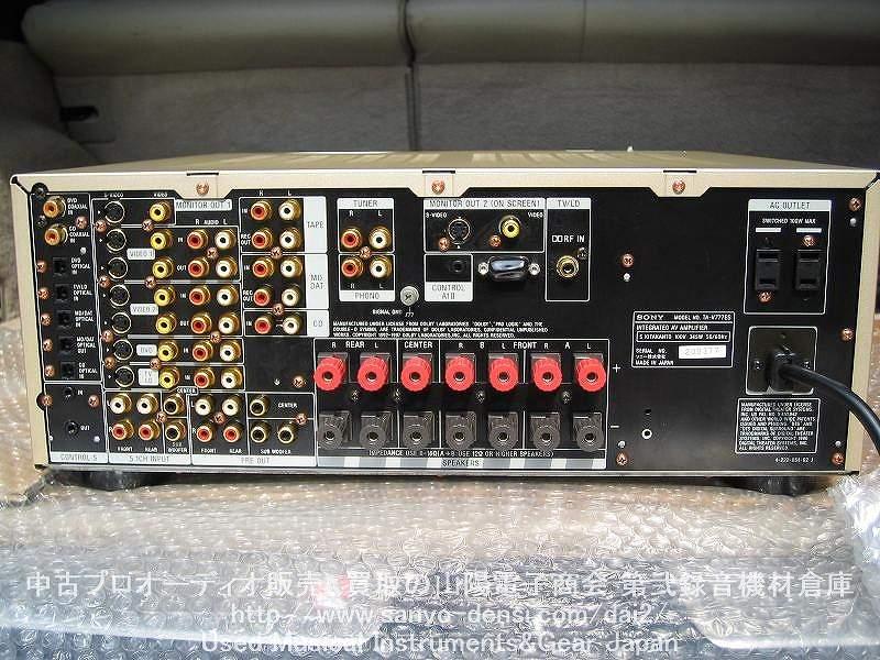 中古音響 AVアンプ SONY TA-V777ES 通信販売