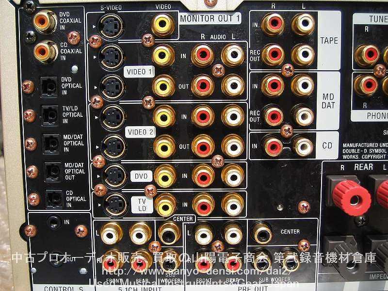 中古 AVアンプ SONY TA-V777ES