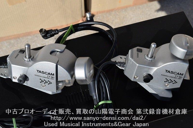 中古音響機材 DJ CDJ デュアルCDプレーヤー TASCAM CD-X1500