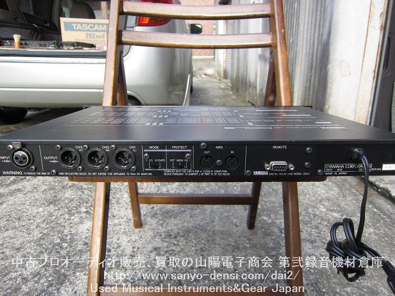 中古音響機器 YAMAHA DDL3 チャンデバ
