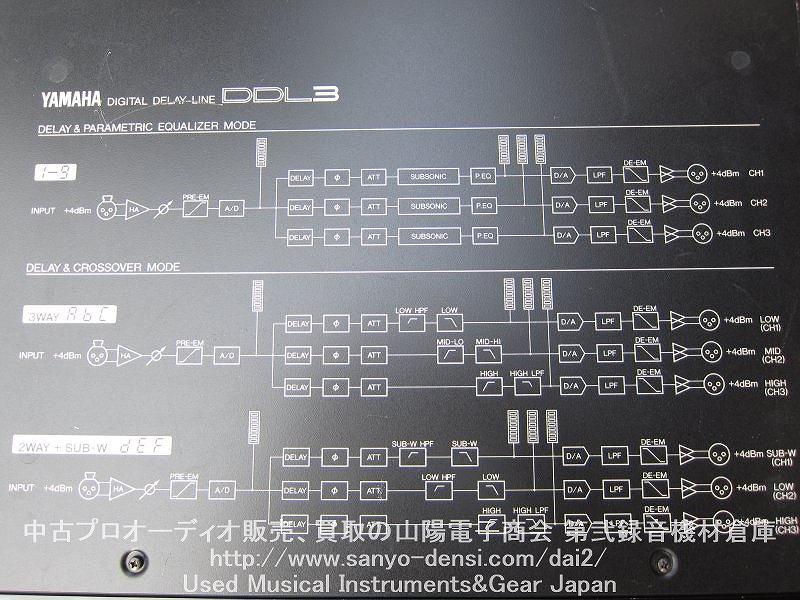 中古音響機器 YAMAHA DDL3 全国通信販売