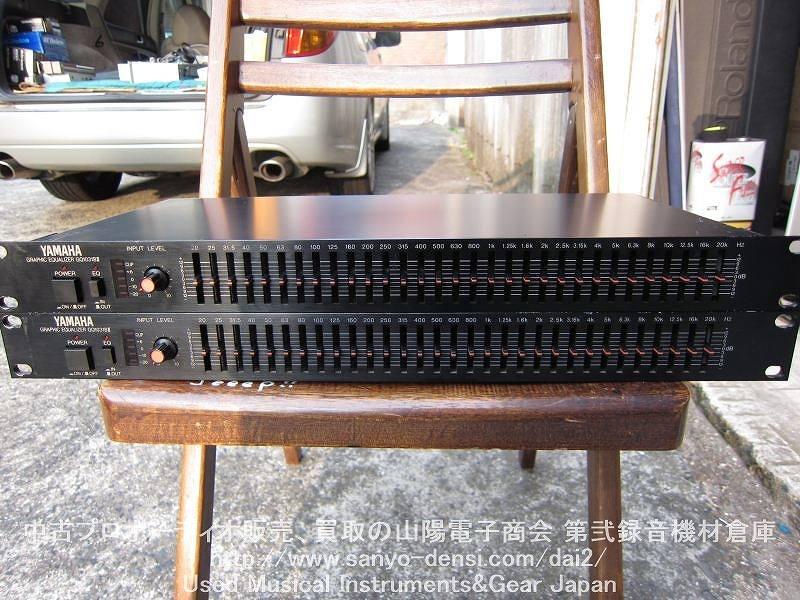 YAMAHA GQ1031B�U 31バンドモノラルEQが2台1セットで販売。PA、レコーディングにどうぞ。