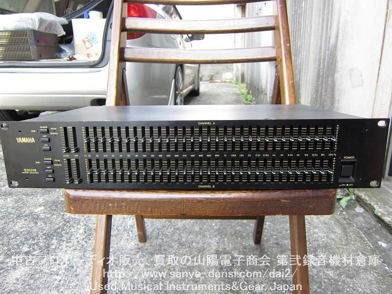 中古音響機器 YAMAHA Q2031B 31バンドグラフィックイコライザー