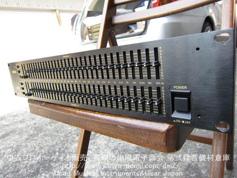 中古音響機器 YAMAHA Q2031B 31バンドグラフィックイコライザー 山陽電子商会