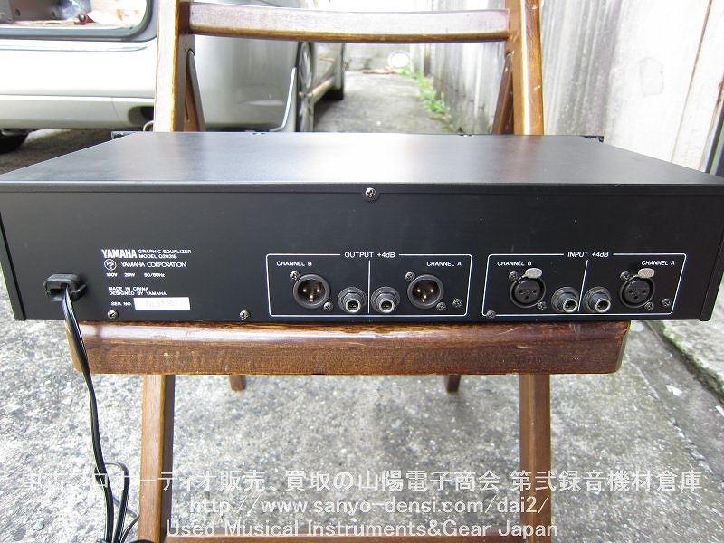 中古音響機器 YAMAHA Q2031B 31バンドグラフィックイコライザー 中古品