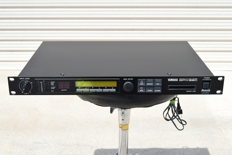中古音響機材 YAMAHA SPX990 リバーブ エフェクトプロセッサー 全国通信販売