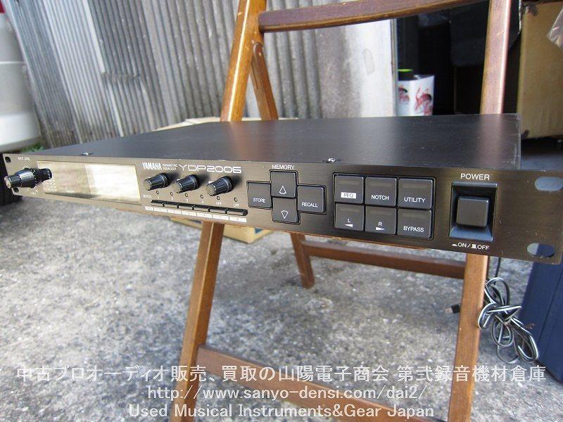 YAMAHA YDP2006 デジタルパラメトリックイコライザー。PA、レコーディングにどうぞ。