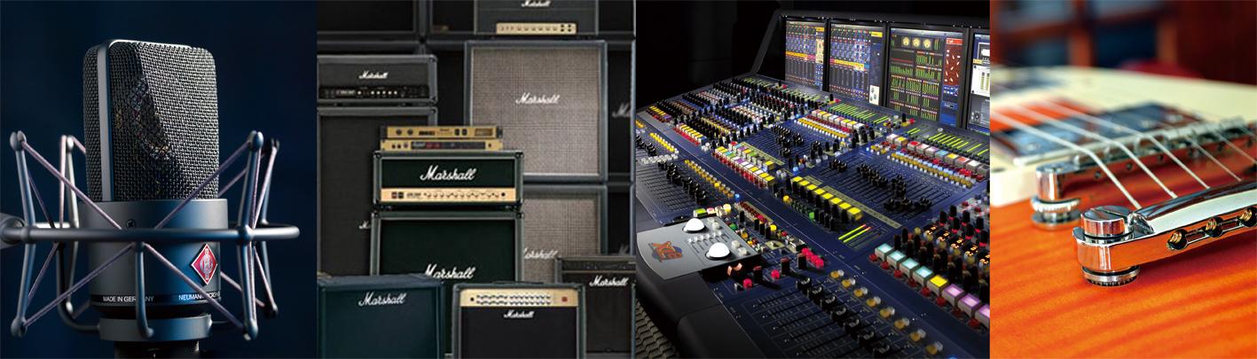 リースアップ、スタジオの閉鎖・倒産・廃業で不要となったレコーディング機材、中古楽器をまとめて買取いたします。
